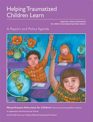 Cover of Helping Traumatized Children Learn