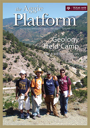 The Aggie Platform - The magazine of Texas A&M University at Qatar